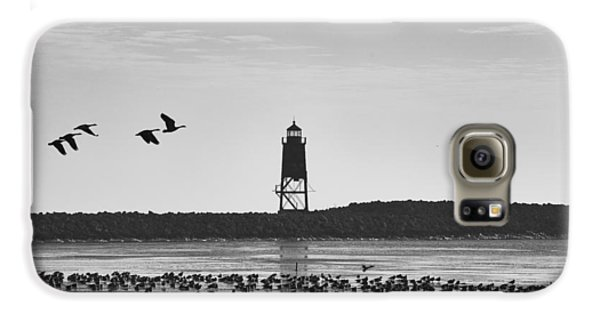 Galaxy S6 Case featuring the photograph Racine Lakefront by Ricky L Jones