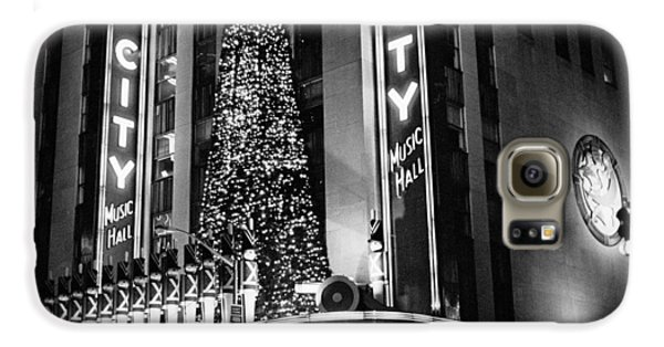 Radio City New York Galaxy S6 Case by Dave Beckerman