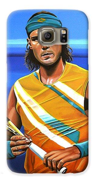 Rafael Nadal Galaxy S6 Case by Paul Meijering