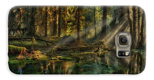 Rain Forest Sunbeams Galaxy S6 Case