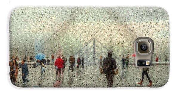 Colours Galaxy S6 Case - Rain In Paris by Roswitha Schleicher-schwarz