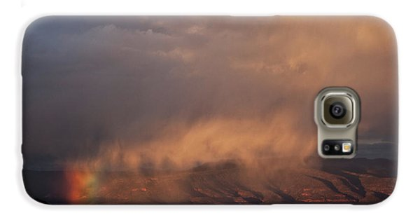 Rainbow Rain Galaxy S6 Case