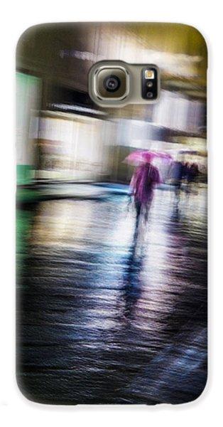 Rainy Streets Galaxy S6 Case