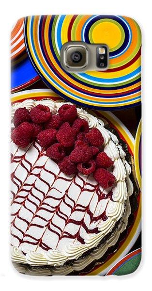 Raspberry Cake Galaxy S6 Case