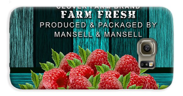 Raspberry Farm Galaxy S6 Case by Marvin Blaine
