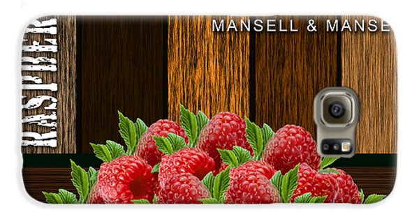 Raspberry Fields Forever Galaxy S6 Case by Marvin Blaine