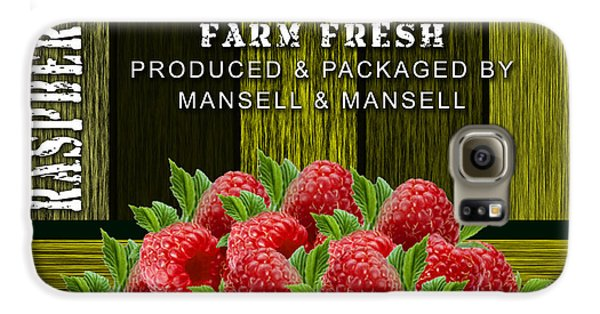 Raspberry Fields Galaxy S6 Case by Marvin Blaine