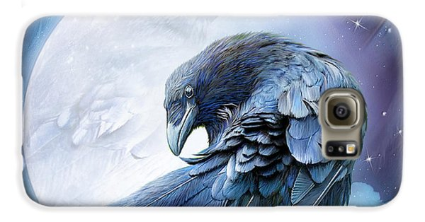Raven Moon Galaxy S6 Case