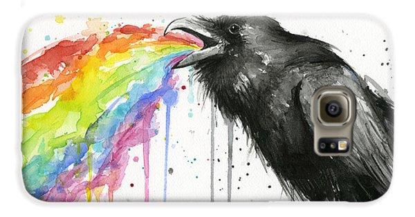 Raven Tastes The Rainbow Galaxy S6 Case