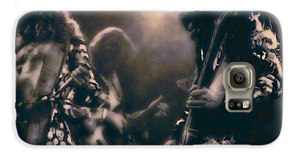 Led Zeppelin Galaxy S6 Case - Raw Energy Of Led Zeppelin by Daniel Hagerman