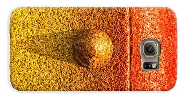 Raw Steel Galaxy S6 Case by Tom Druin