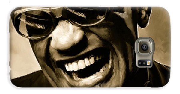 Ray Charles - Portrait Galaxy S6 Case