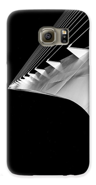 Reading A Sundial At Midnight Galaxy S6 Case by Alex Lapidus