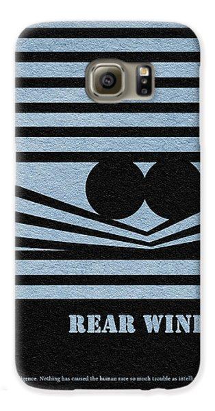 Rear Window Galaxy S6 Case by Ayse Deniz