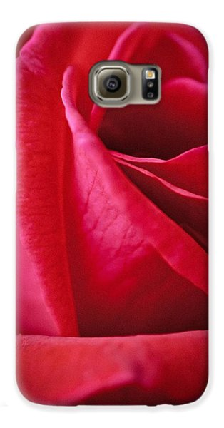 Red Galaxy S6 Case