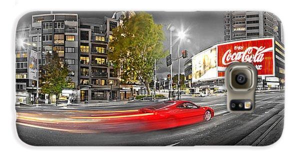 Red Lights Sydney Nights Galaxy S6 Case