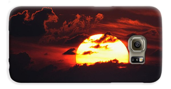 Red Sky At Night Galaxy S6 Case