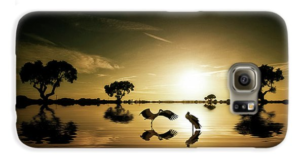 Reflections In The Lake Galaxy S6 Case