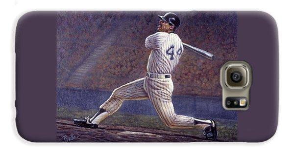 Los Angeles Dodgers Galaxy S6 Case - Reggie Jackson by Gregory Perillo