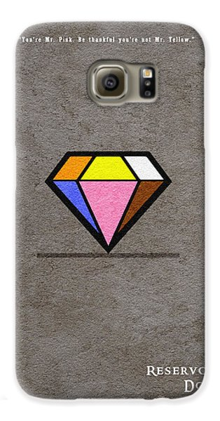 Reservoir Dogs - 3 Galaxy S6 Case by Ayse Deniz