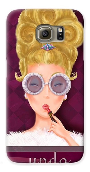 Retro Hairdos-updo Galaxy S6 Case