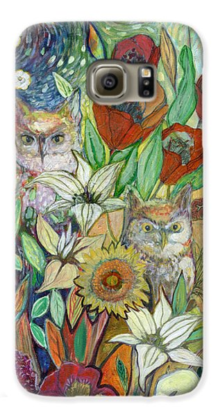 Tulip Galaxy S6 Case - Returning Home To Roost by Jennifer Lommers