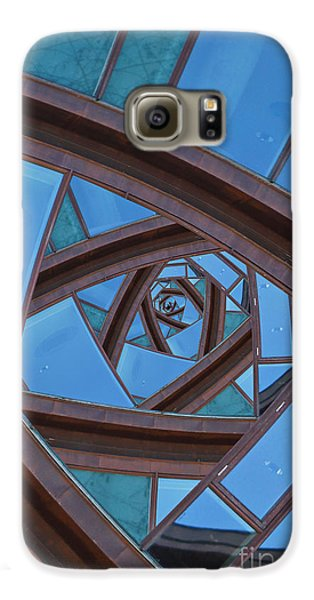 Galaxy S6 Case featuring the photograph Revolving Blues. by Clare Bambers