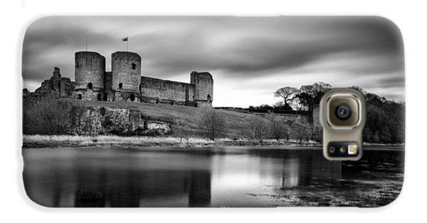 Rhuddlan Castle Galaxy S6 Case by Dave Bowman