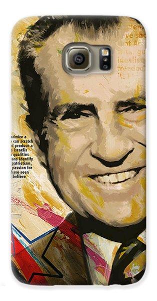 Richard Nixon Galaxy S6 Case by Corporate Art Task Force