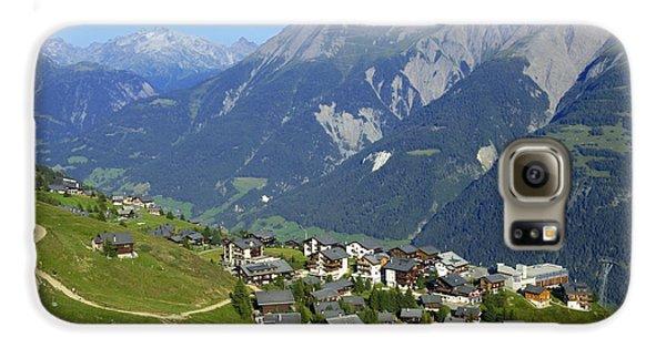 Riederalp Valais Swiss Alps Switzerland Galaxy S6 Case