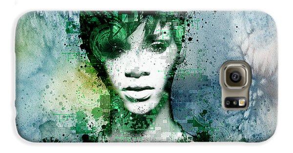 Rihanna 4 Galaxy S6 Case by Bekim Art