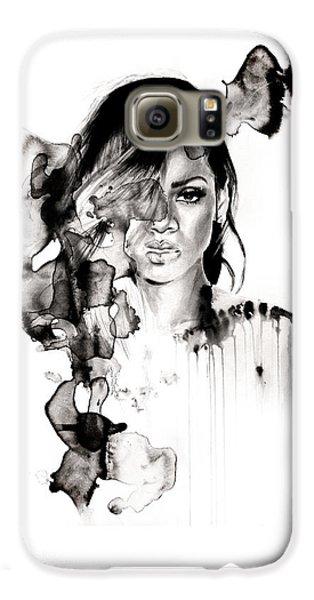 Rihanna Stay Galaxy S6 Case by Molly Picklesimer