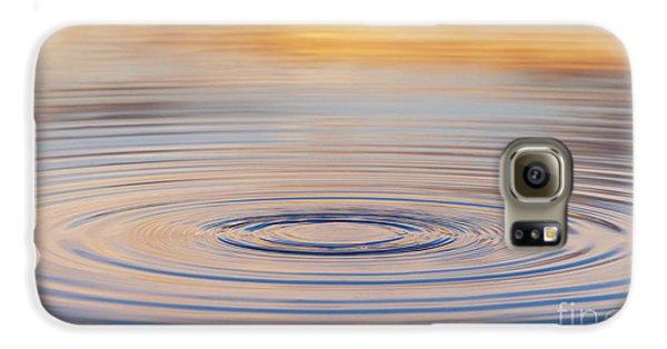 Ripples On A Still Pond Galaxy S6 Case