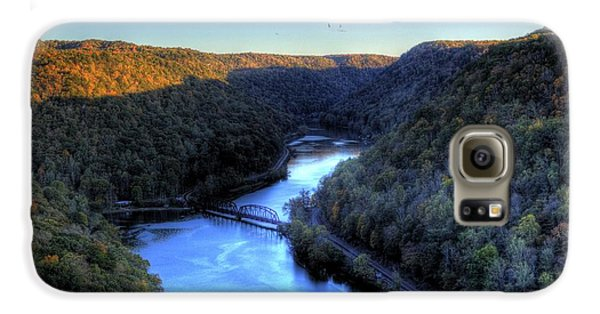Galaxy S6 Case featuring the photograph River Cut Through The Valley by Jonny D