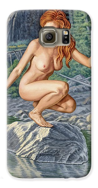 Nudes Galaxy S6 Case - River Nymph by Paul Krapf