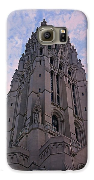 Harlem Galaxy S6 Case - Riverside Church by Stephen Stookey