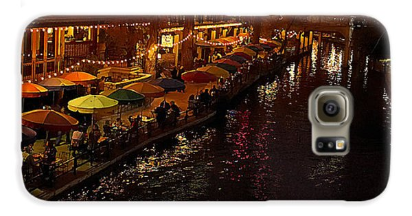 Riverwalk Night Galaxy S6 Case
