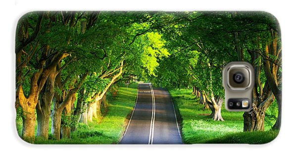 Road Pictures Galaxy S6 Case by Marvin Blaine
