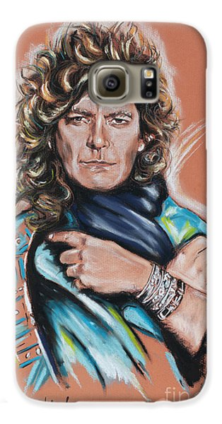 Robert Plant Galaxy S6 Case by Melanie D