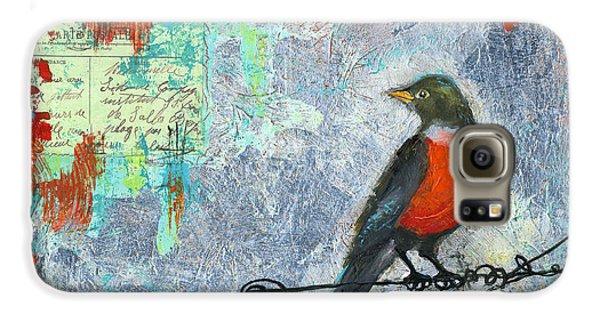 Robin Love Letter  Galaxy S6 Case
