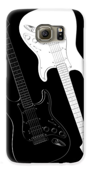 Music Galaxy S6 Case - Rock And Roll Yin Yang by Mike McGlothlen