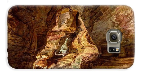 Rock House At Hocking Hills Oh Galaxy S6 Case