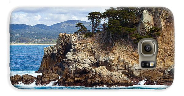 Rocky Outcropping At Point Lobos Galaxy S6 Case
