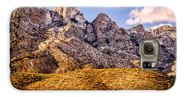 Galaxy S6 Case featuring the photograph Rocky Peaks by Mark Myhaver
