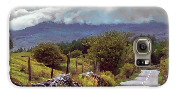 Rolling Storm Clouds Down Cumbrian Hills Galaxy S6 Case