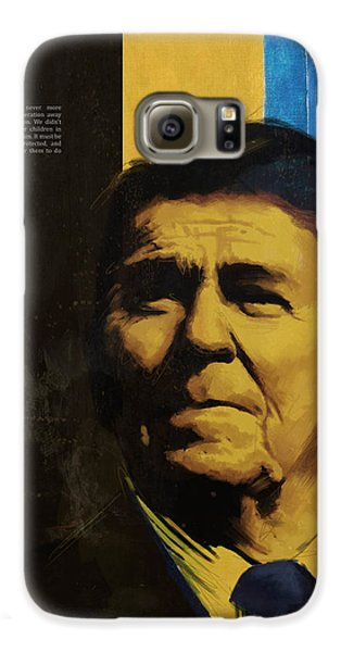Ronald Reagan Galaxy S6 Case by Corporate Art Task Force