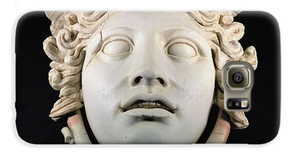 Rondanini Medusa, Copy Of A 5th Century Bc Greek Marble Original, Roman Plaster Galaxy S6 Case by .