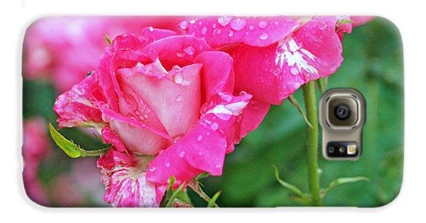 Rose Bonbons Galaxy S6 Case by Rona Black