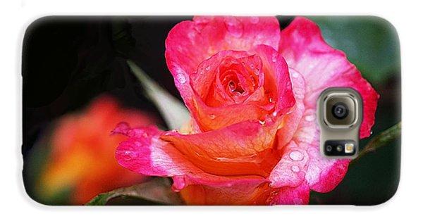 Rose Mardi Gras Galaxy S6 Case by Rona Black