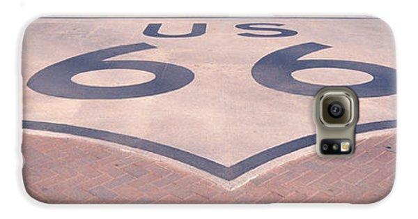 Route 66 In Brick  Galaxy S6 Case